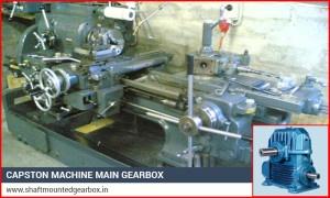 Capston Machine Main Gearbox