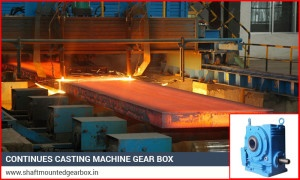 Continues Casting Machine GearBox