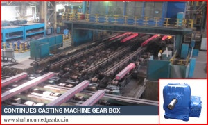 Continues Casting Machine GearBox India