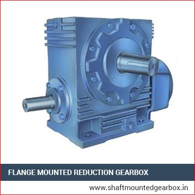 Flange Mounted Reduction Gearbox Manufacturer