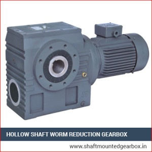Hollow Shaft Worm Reduction Gearbox Supplier