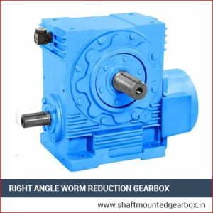 Right Angle Worm Reduction Gearbox Manufacturer