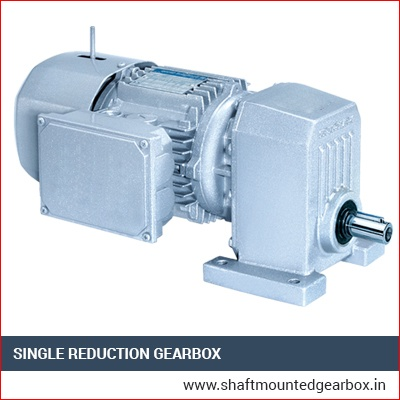 Single Reduction Gearbox Manufacturer India