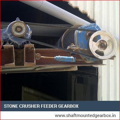 Stone Crusher Feeder Gearbox Manufacturer