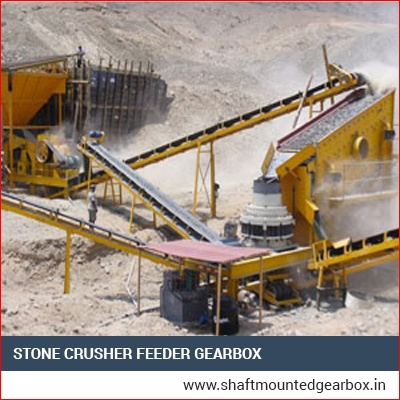 Stone Crusher Feeder Gearbox India