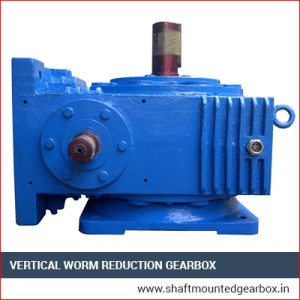 Vertical Worm Reduction Gearbox Manufacturer