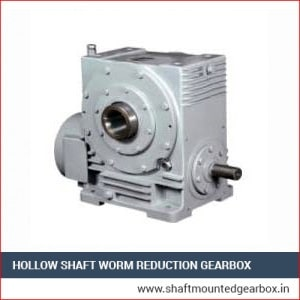 Hollow Shaft Worm Reduction Gearbox Manufacturer