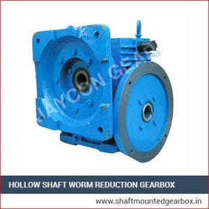 Hollow Shaft Worm Reduction Gearbox Exporter