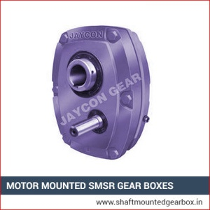 Motor Mounted SMSR Gear Boxes Manufacturer Ajmer