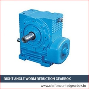 Right Angle Worm Reduction Gearbox Exporter