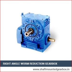 Right Angle Worm Reduction Gearbox Supplier