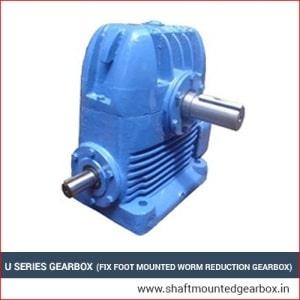 U Series Gearbox Manufacturers India