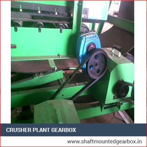 Crusher plant gearbox